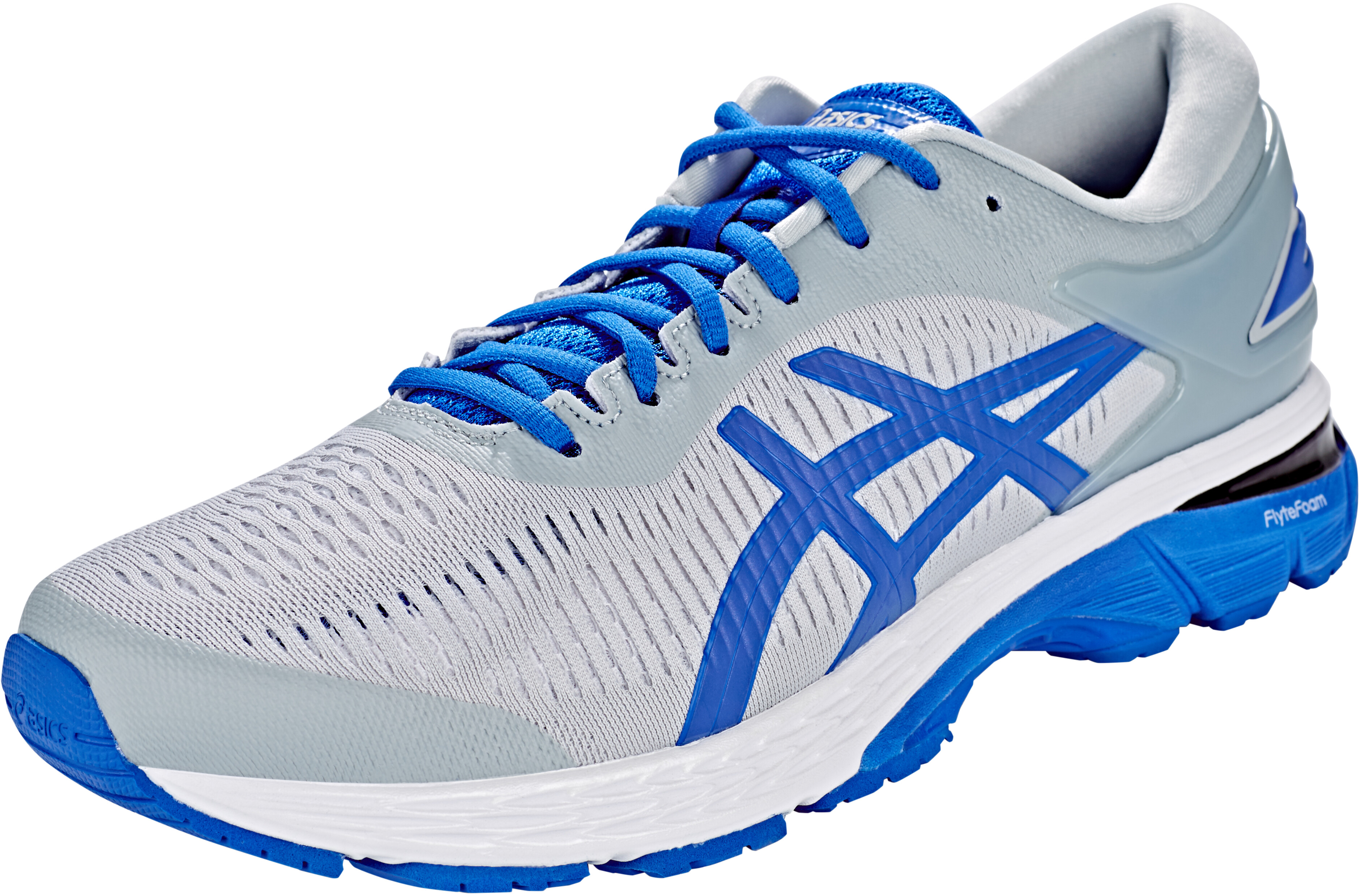 f3b162e4 asics Gel-Kayano 25 Lite-Show Shoes Men mid grey/illusion blue